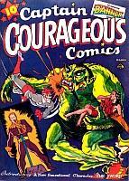 Captain Courageous Comics