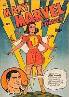 Mary Marvel Comics